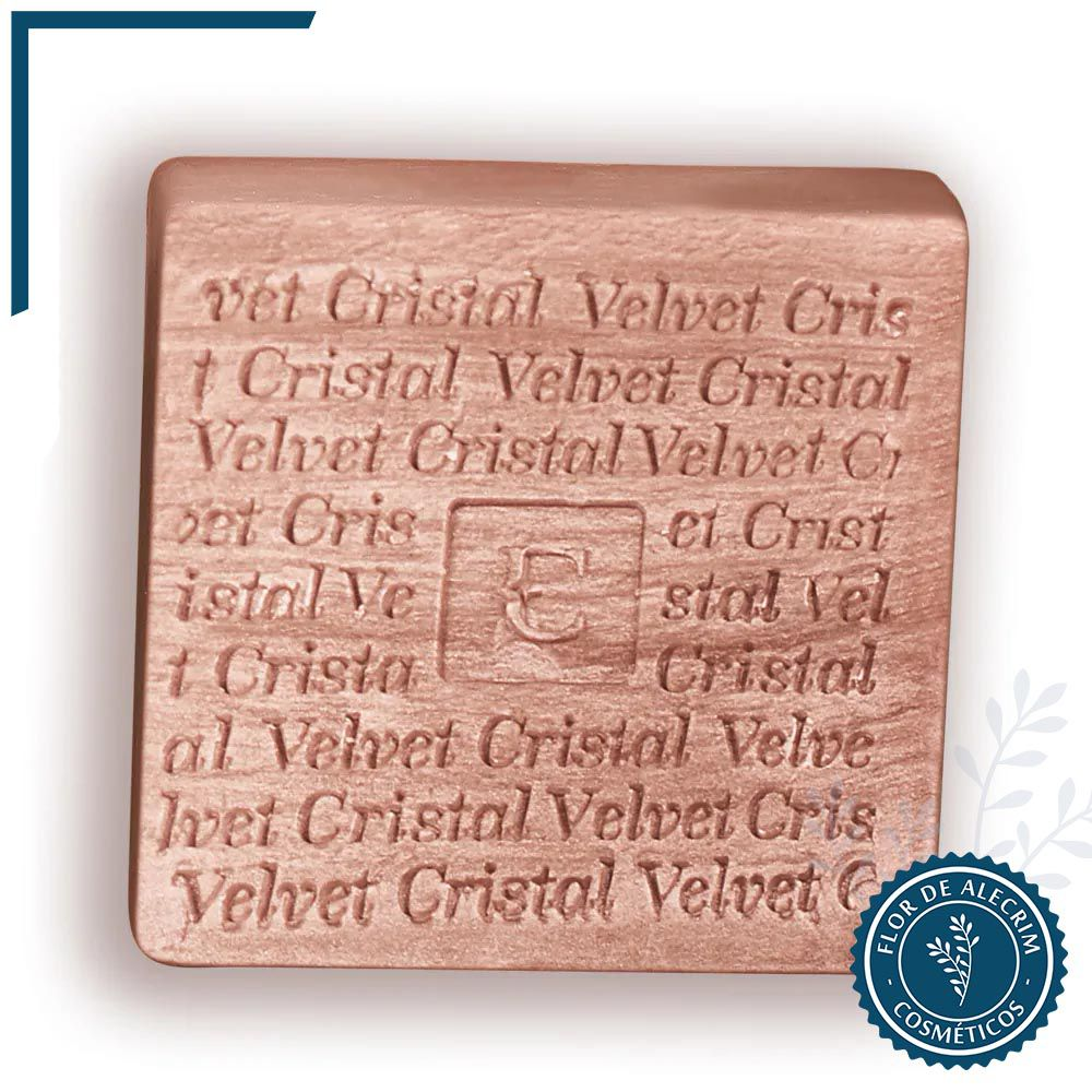 Sabonete em Barra Eudora Velvet Cristal 1 unidade - 90 g | Eudora  - Flor de Alecrim - Cosméticos