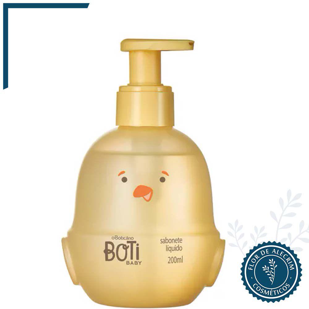 Sabonete Líquido | Boti Baby - 200 ml  - Flor de Alecrim - Cosméticos