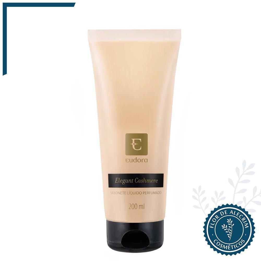 Sabonete Líquido Eudora Elegant Cashmere - 200 ml| Eudora  - Flor de Alecrim - Cosméticos