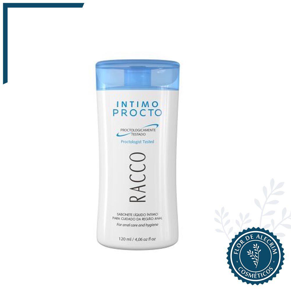 Sabonete Líquido Intimo Procto - 120 ml | Racco  - Flor de Alecrim - Cosméticos