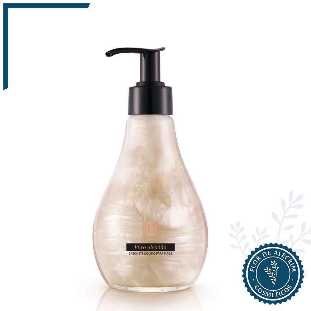 Sabonete Líquido para Mãos Eudora Puro Algodão - 260 ml | Eudora  - Flor de Alecrim - Cosméticos