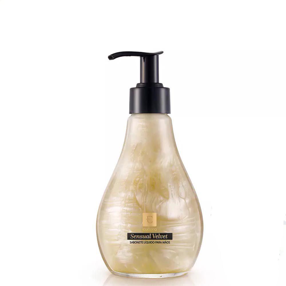 Sabonete Líquido para Mãos Sensual Velvet 260 Ml  - Flor de Alecrim - Cosméticos