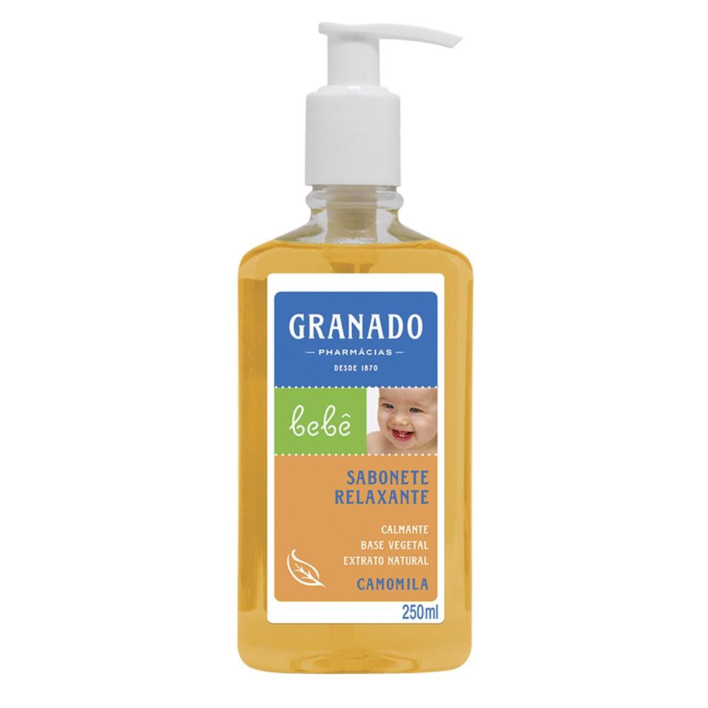 Sabonete Relaxante Camomila - 250 Ml | Granado  - Flor de Alecrim - Cosméticos