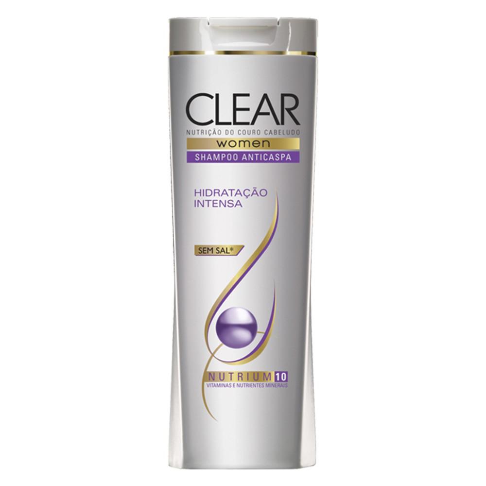 Shampoo Anticaspa Women Hidratação Intensa - 200 Ml | Clear  - Flor de Alecrim - Cosméticos