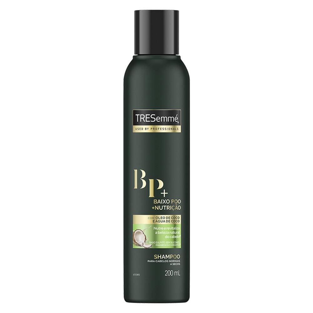 Shampoo Tresemmé Baixo Poo + Nutrição 200 Ml  - Flor de Alecrim - Cosméticos
