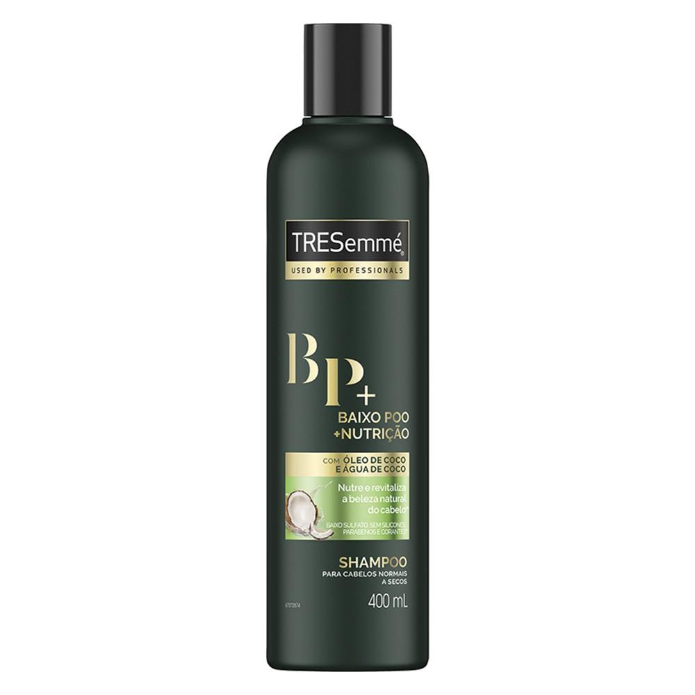 Shampoo Baixo Poo + Nutrição - 400 Ml | Tresemmé  - Flor de Alecrim - Cosméticos