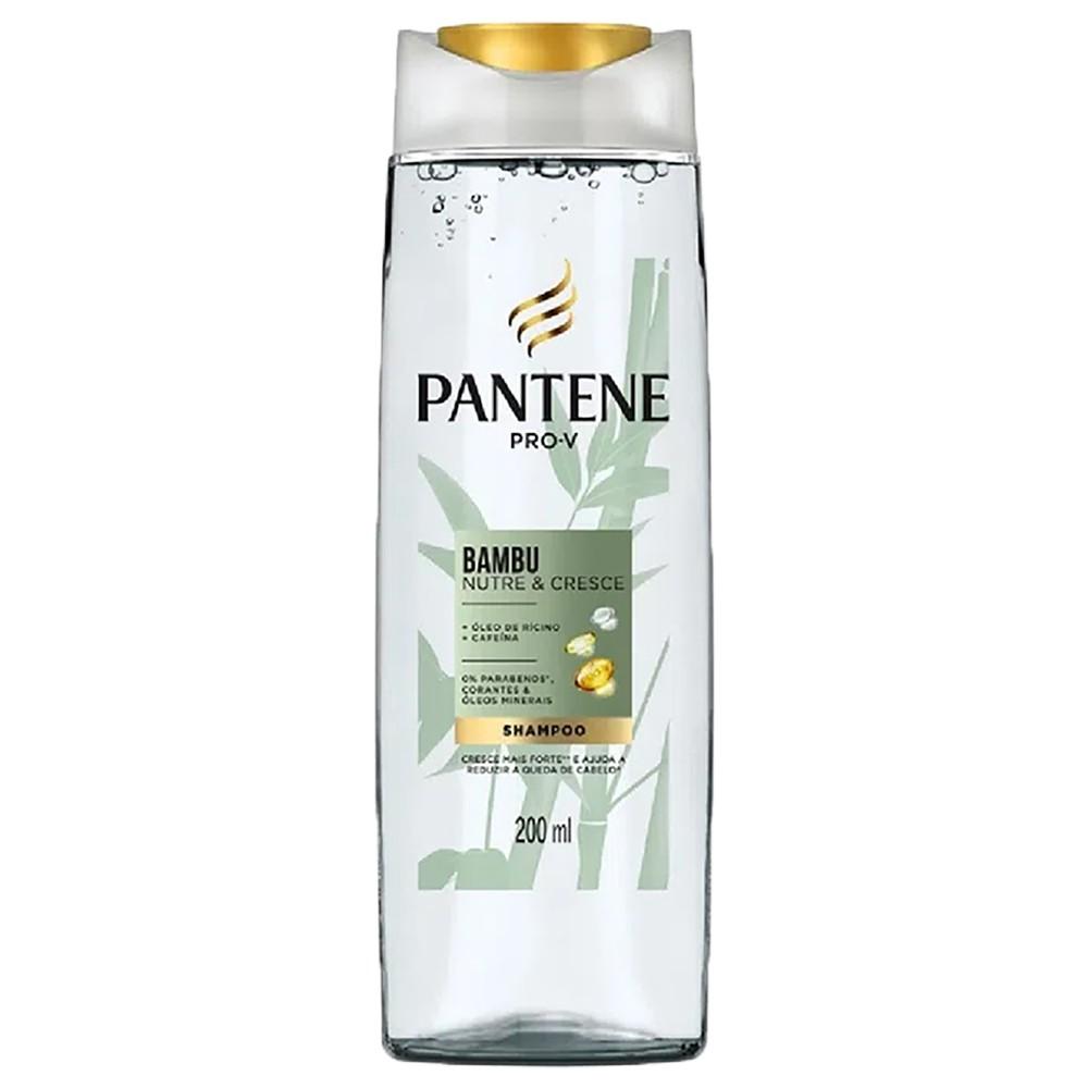 Shampoo Bambu Nutre & Cresce - 200 Ml | Pantene  - Flor de Alecrim - Cosméticos