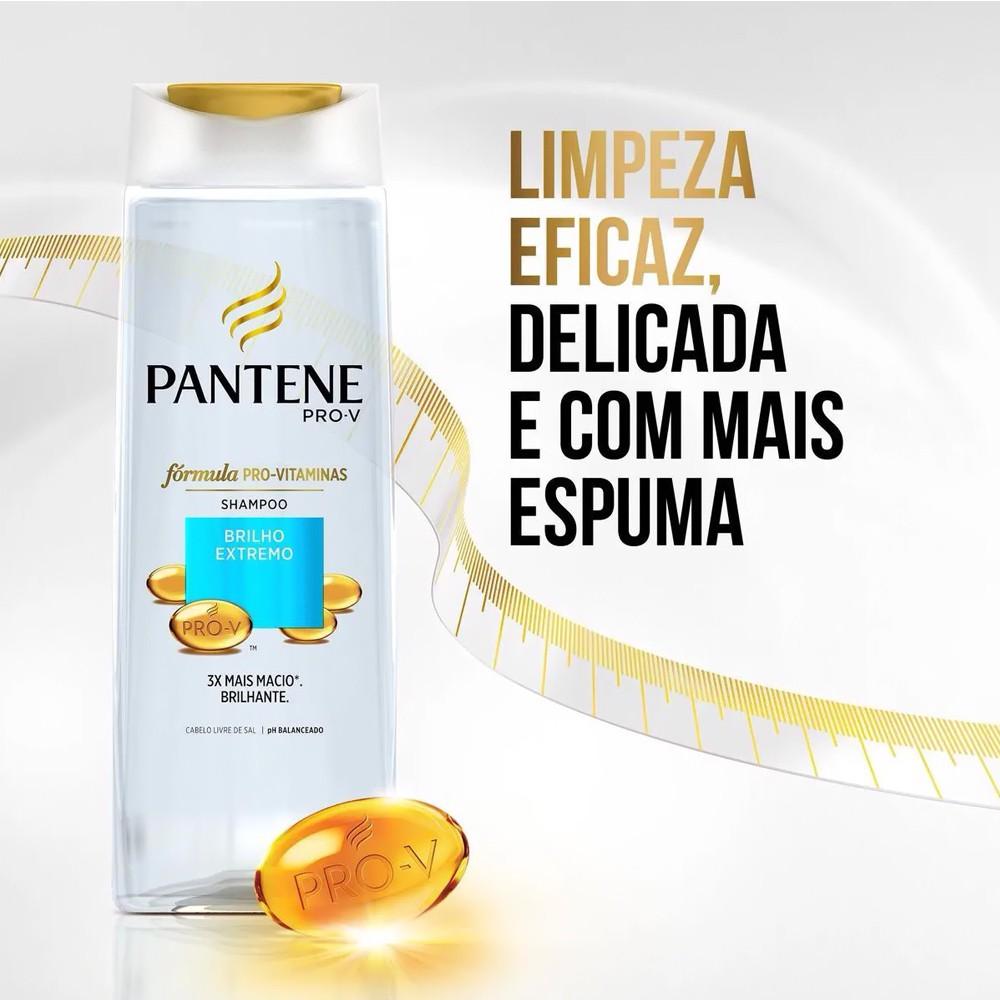 Shampoo Brilho Extremo 400 Ml  - Flor de Alecrim - Cosméticos