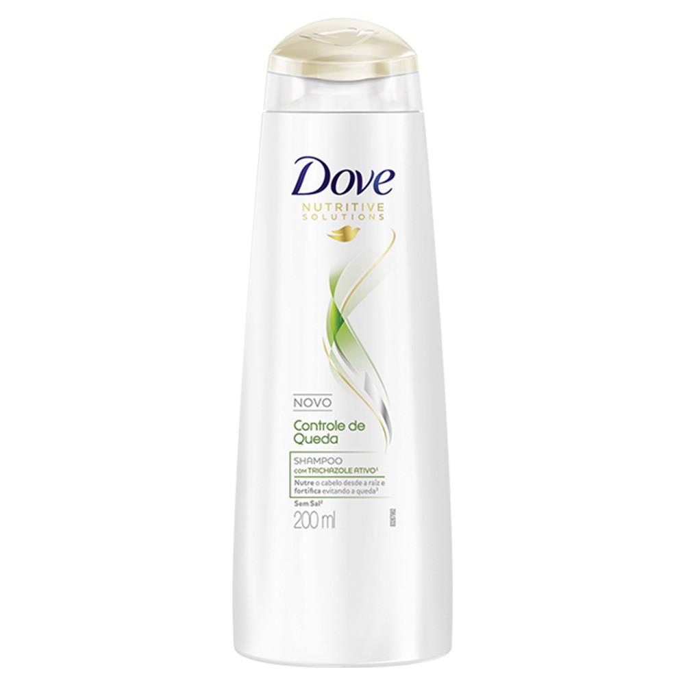 Shampoo Controle de Queda - 200 Ml | Dove  - Flor de Alecrim - Cosméticos