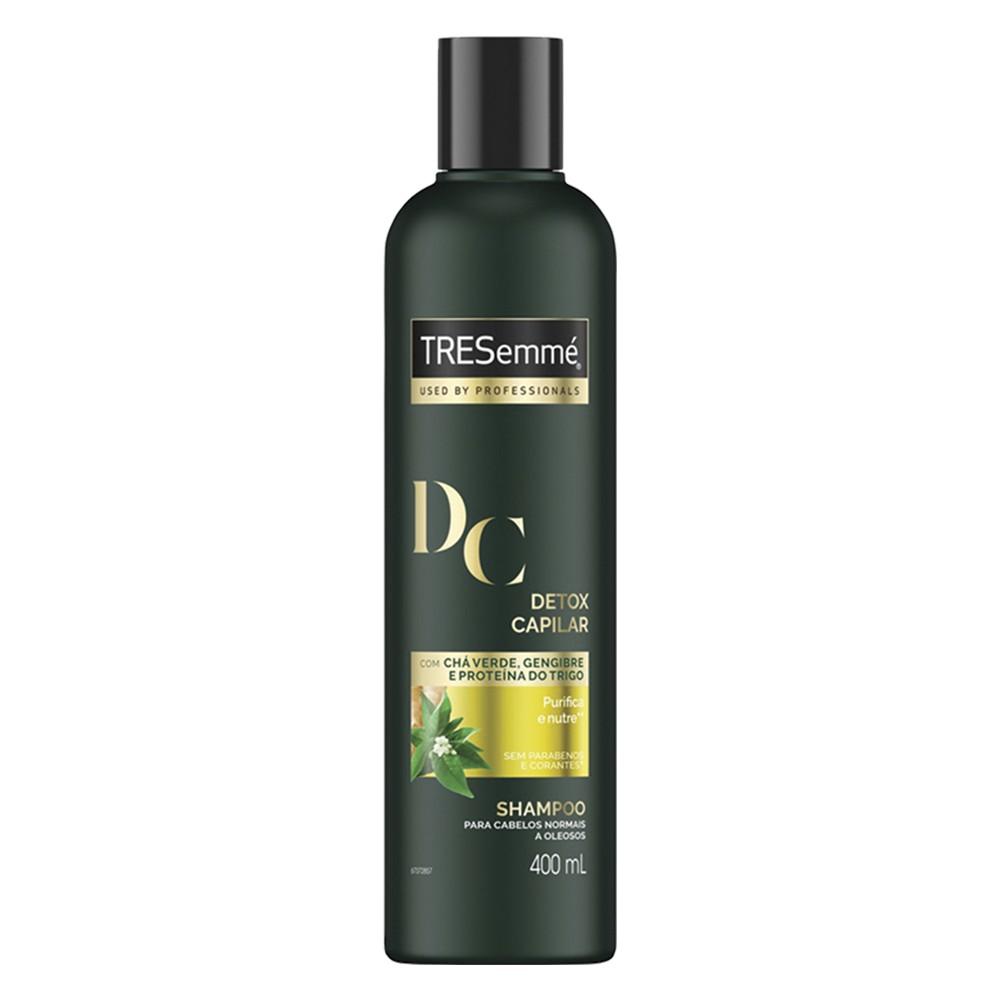Shampoo Detox Capilar - 400 Ml | Tresemmé  - Flor de Alecrim - Cosméticos