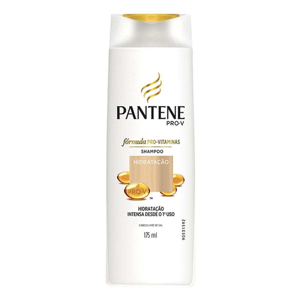 Shampoo Pantene Hidratação 175 Ml  - Flor de Alecrim - Cosméticos
