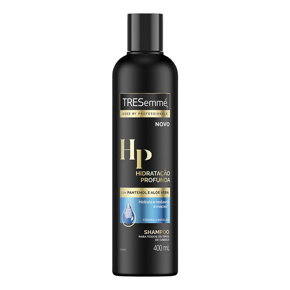 Shampoo Hidratação Profunda 400 Ml | Tresemmé  - Flor de Alecrim - Cosméticos
