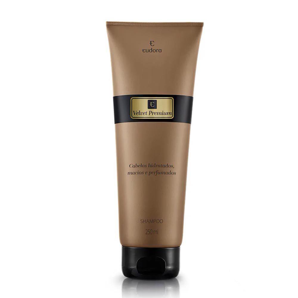 Shampoo Hidratante Velvet Premium - 250 ml | Eudora  - Flor de Alecrim - Cosméticos