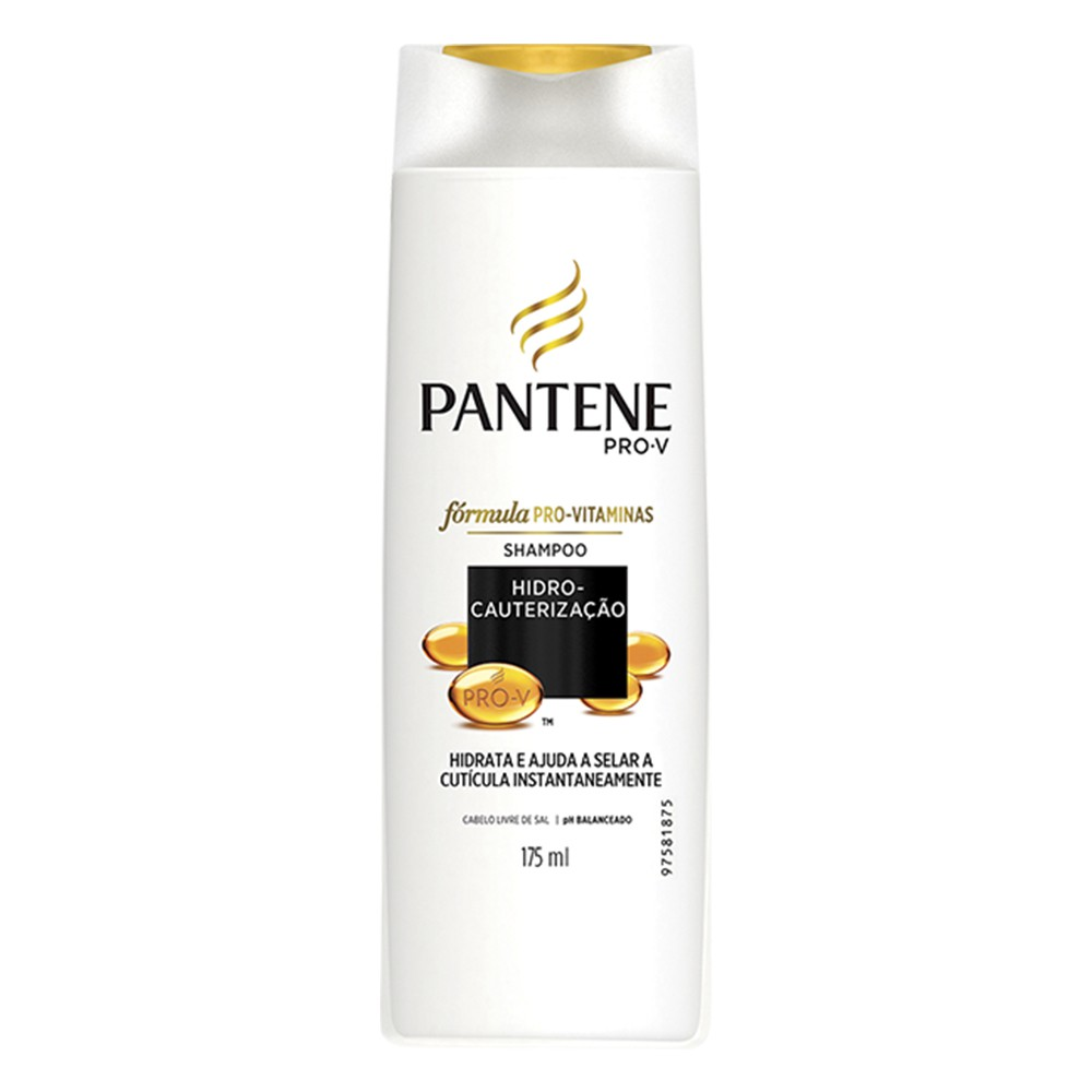 Shampoo Hidro-Cauterização - 175 Ml | Pantene  - Flor de Alecrim - Cosméticos