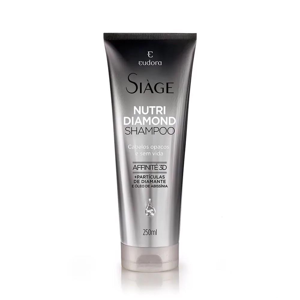 Shampoo Nutri Diamond Siàge - 250 ml | Eudora  - Flor de Alecrim - Cosméticos