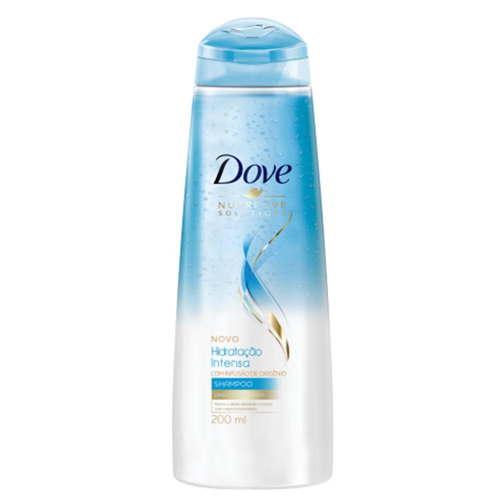 Shampoo Dove Nutritive Solutions Hidratação Intensa 200 Ml  - Flor de Alecrim - Cosméticos