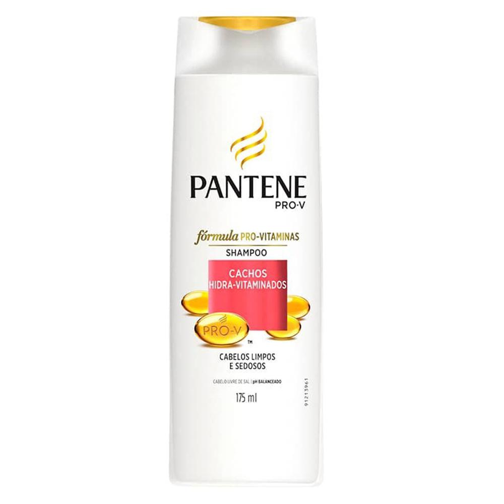 Shampoo Pantene Cachos Hidra Vitaminados 175 Ml  - Flor de Alecrim - Cosméticos
