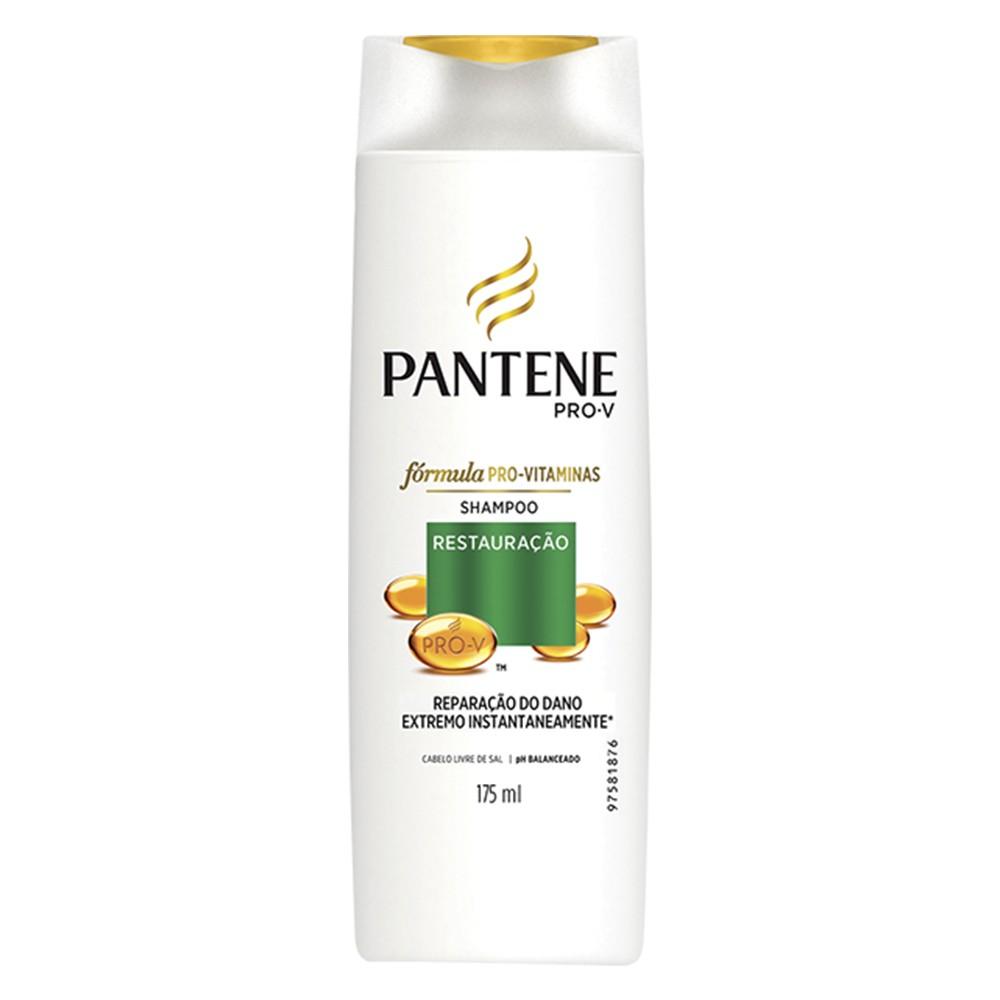 Shampoo Restauração - 175 Ml | Pantene  - Flor de Alecrim - Cosméticos