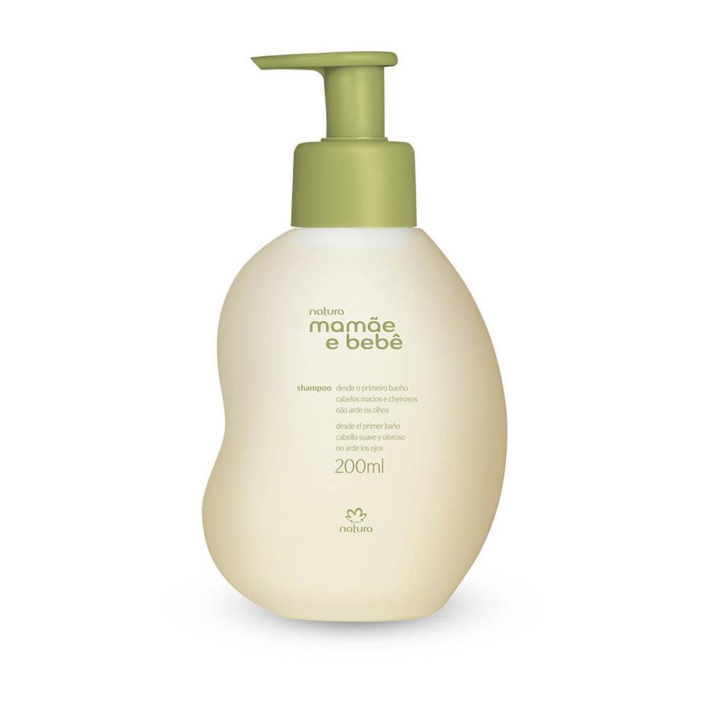Shampoo Suave Mamãe e Bebê 200 Ml  - Flor de Alecrim - Cosméticos