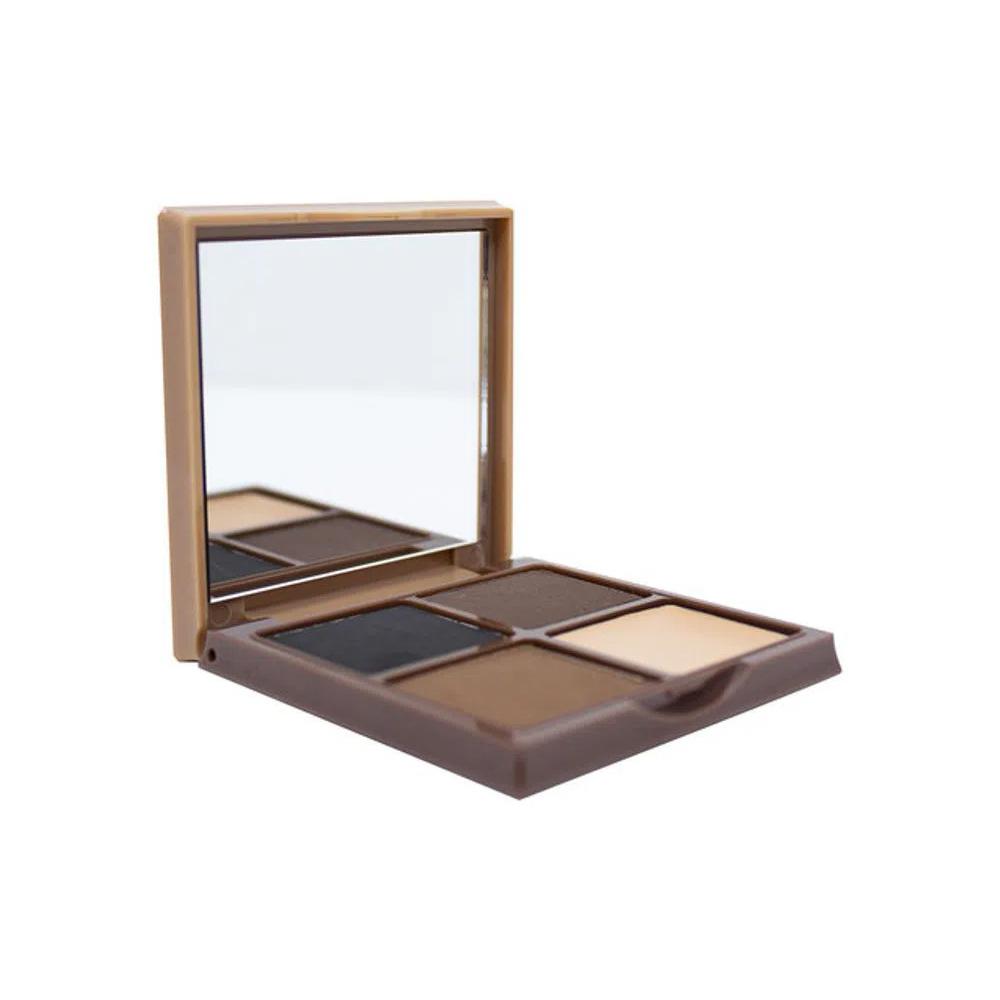 Sombra para Sobrancelha com Espelho Cor 2 Max Love 5,7 g  - Flor de Alecrim - Cosméticos