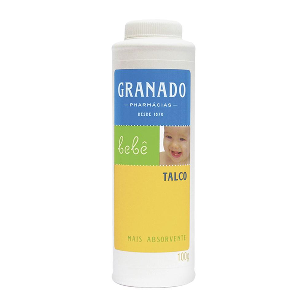 Talco Bebê Granado 100 g  - Flor de Alecrim - Cosméticos
