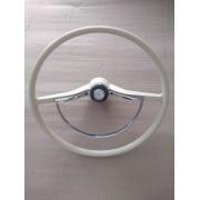 Volante Novo para Fusca - Réplica perfeita do original  com botão relógio