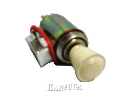 Acendedor de cigarro do Fusca em Metal - Preto e Marfim
