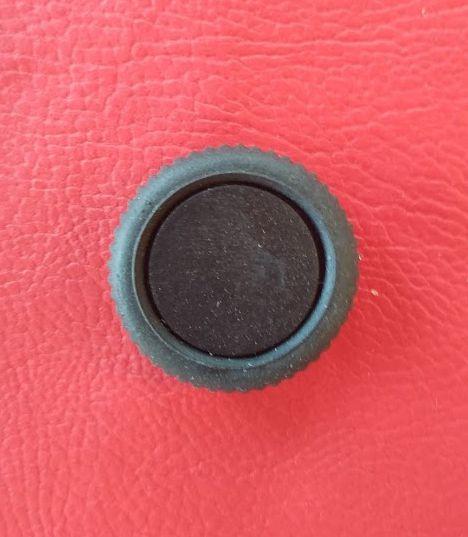 Botão do painel do Fusca acima de 1973 - Liso