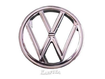 Emblema do Capô do  Fusca em Metal Cromado