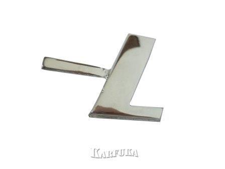 Emblema L para Fusca