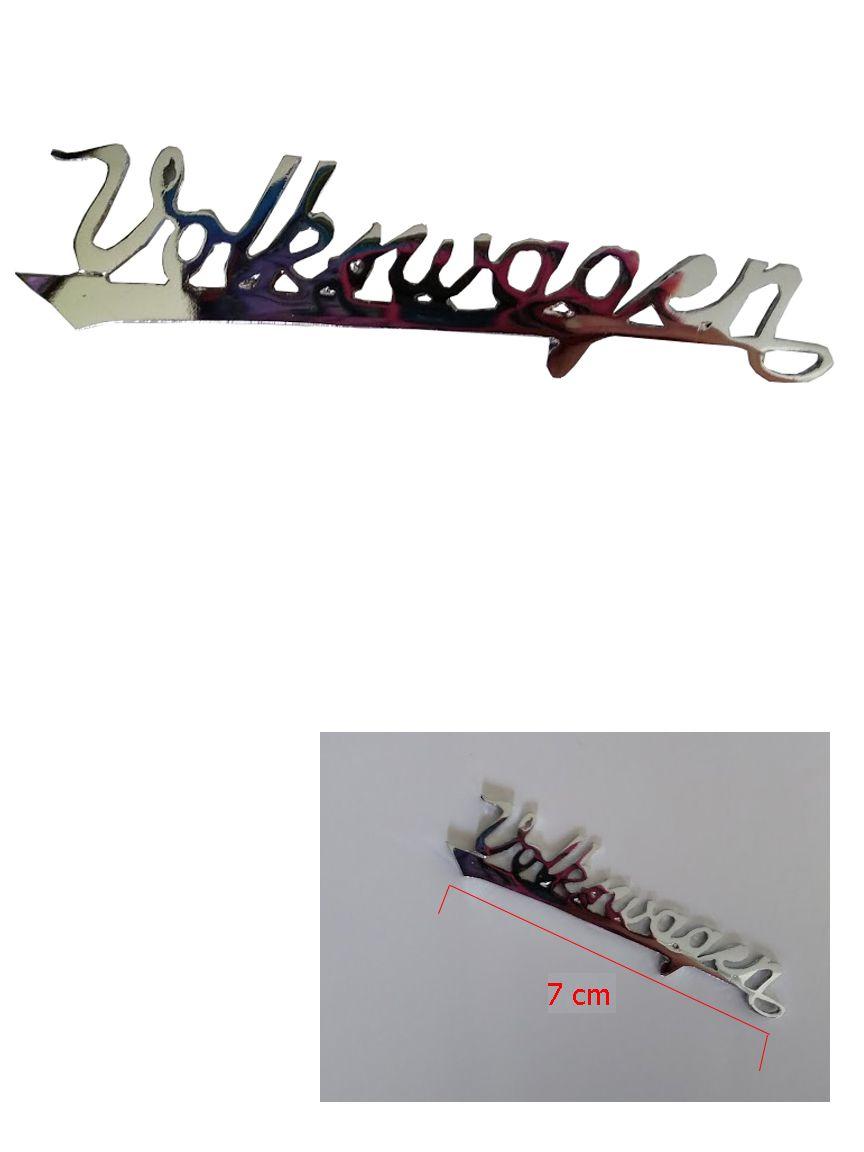Emblema  Volkswagen para Painel do Fusca, Brasília, Variant, Kombi etc