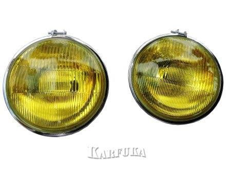 Farol de milha auxiliar lente amarela - O PAR