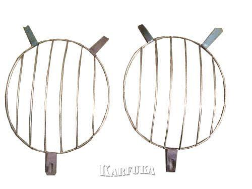 Grade do Farol Olho de boi para Fusca -MODELO 1-  O PAR