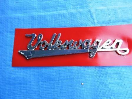 Manuscrito Volkswagen para Fusca -2ª  linha
