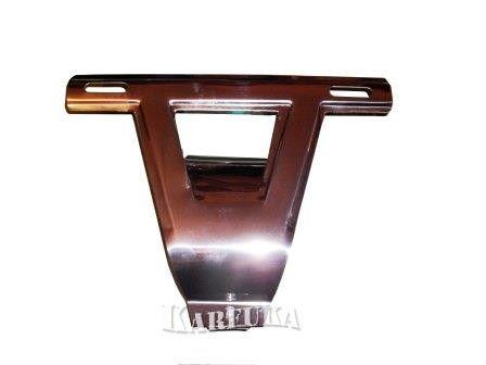 Suporte de Placa Dianteiro de Inox para Fusca até 1970