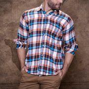 Camisa TXC Brand manga longa  flanelada 2176L