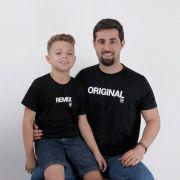 Camiseta  Adulto TXC Brand  Pai e Filho 005