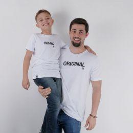 Camiseta Infantil TXC Brand Pai e Filho 006