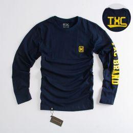 Camiseta TXC Brand Marinho manga longa 1159