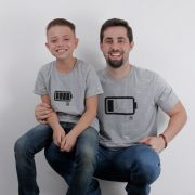 Camiseta  Adulto TXC Brand  Pai e Filho 004