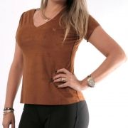 T-Shirt TXC Brand marrom 40126