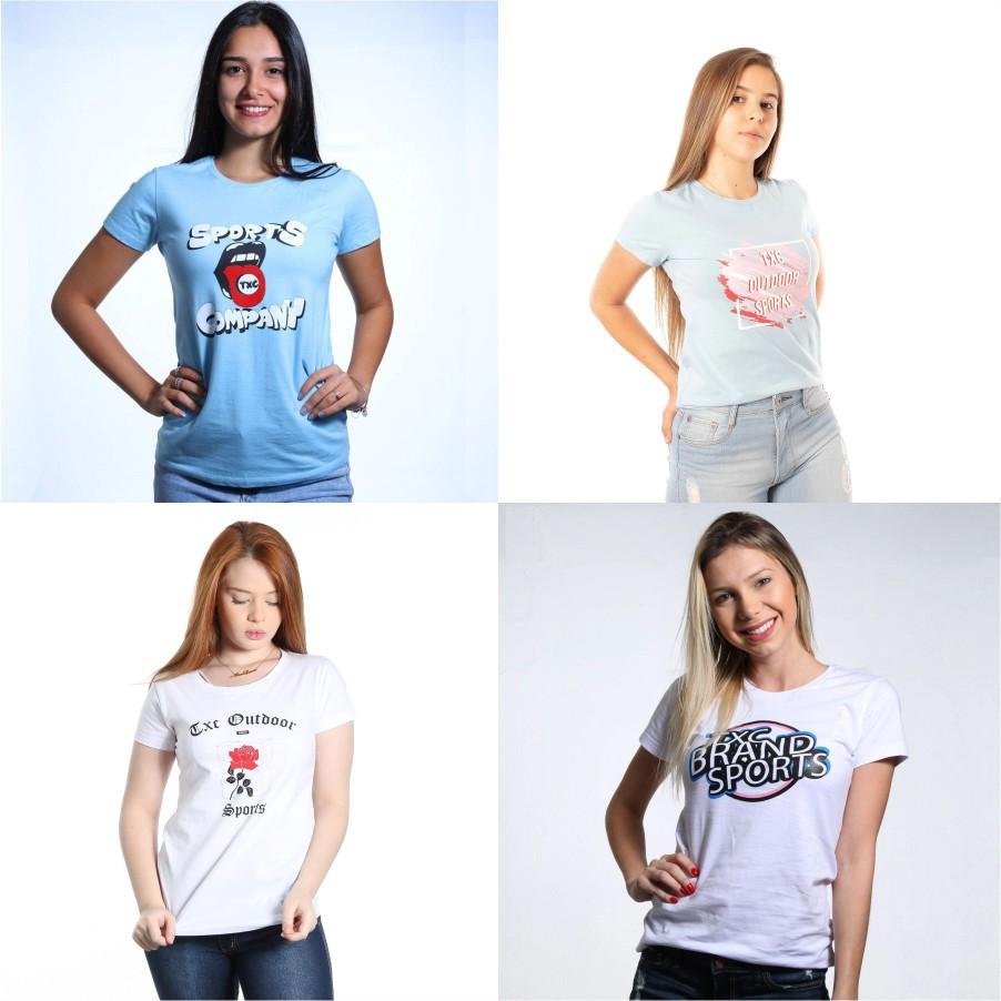 4 Camisetas: M