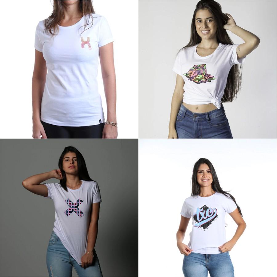 4 Camisetas GG
