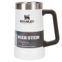 Caneca térmica de cerveja Stanley Branca 709ml