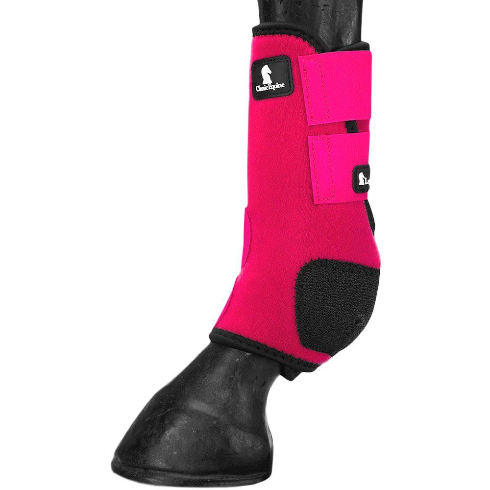 Boleteira Dianteira Classic Equine Legacy Rosa Pink