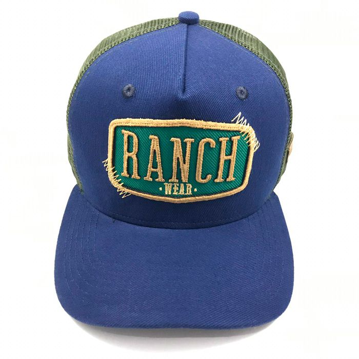 Boné RANCH WEAR aba curva R54