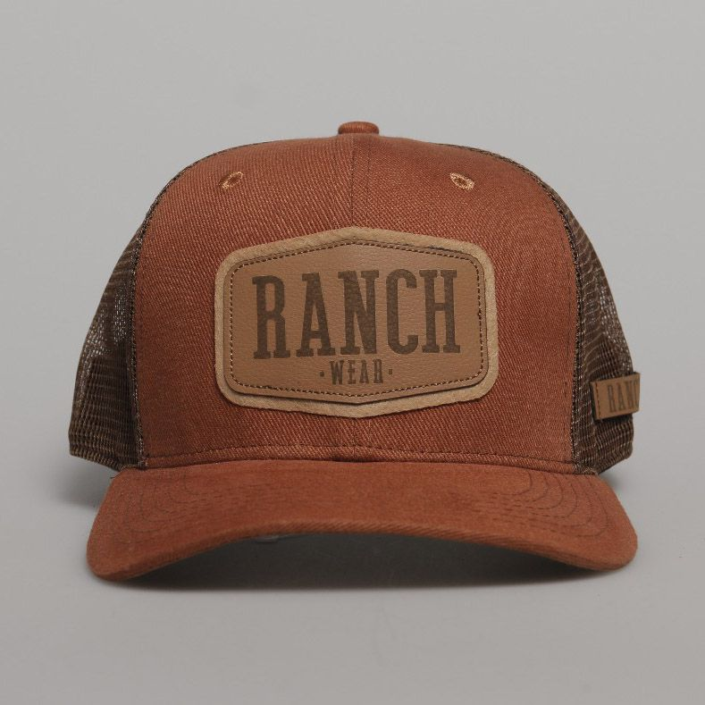 Boné RANCH WEAR aba curva R56