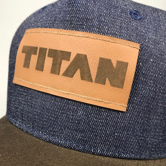 Boné TITAN aba curva T103