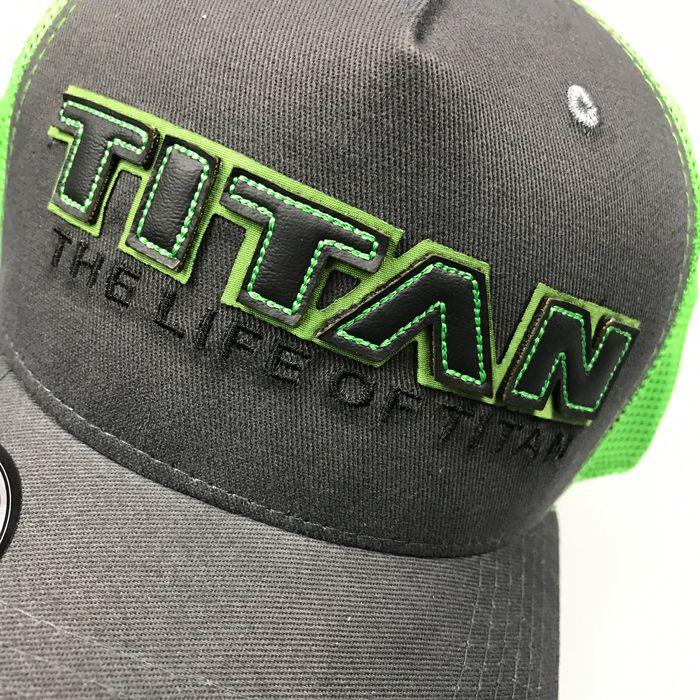 Boné TITAN aba curva T105