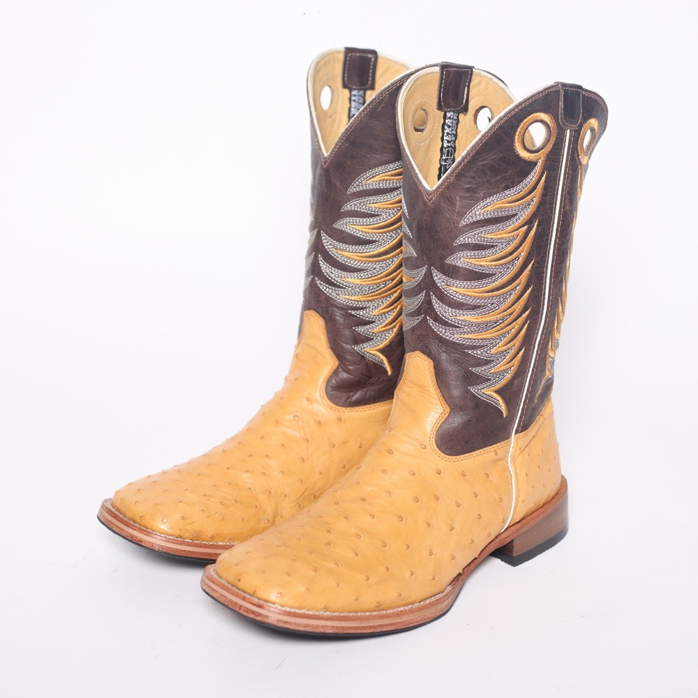 Bota Texas Center B-08 2803 ouro